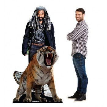 Ezekiel and Shiva (The Walking Dead) Cardboard Cutout - $39.95