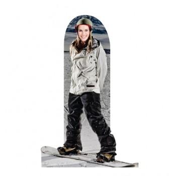 Snowboarder Standin Cardboard Cutout - $39.95