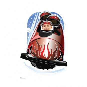 Bobsled Standin Cardboard Cutout - $39.95
