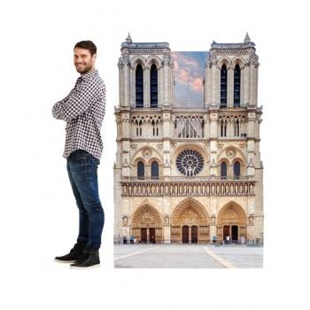 Notre Dame Cardboard Cutout - $39.95