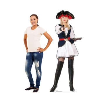 Pirate Wench Cardboard Cutout