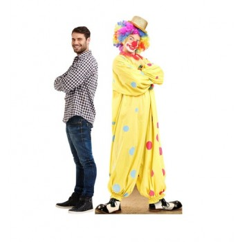 Circus Clown Cardboard Cutout