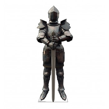 Knight in Armor Cardboard Cutout