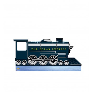 Polar Express Train Standin Cardboard Cutout
