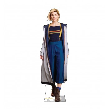 The Doctor Who 11 Cardboard Cutout
