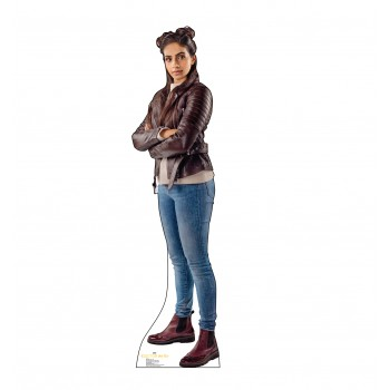 Yaz Doctor Who 11 Cardboard Cutout