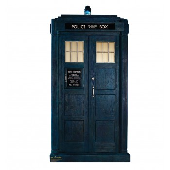 TARDIS Doctor Who 11 Cardboard Cutout