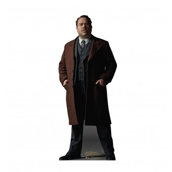 Jacob Kowalski Fantastic Beasts The Crimes of Grindelwald Cardboard Cutout - $39.95