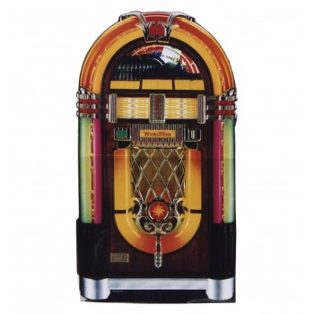 Wurlitzer Jukebox Cardboard Cutout - $39.95