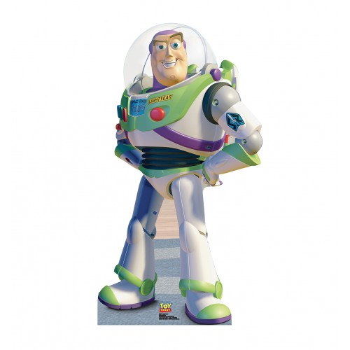 Buzz Lightyear A Toy Story Cardboard Cutout