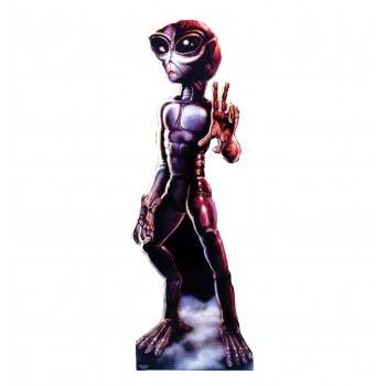 Roswell Alien Female Cardboard Cutout - $39.95