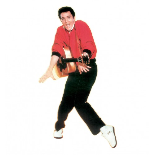 Elvis Presley Red Jacket Cardboard Cutout