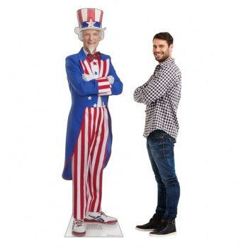 Uncle Sam Cardboard Cutout - $39.95