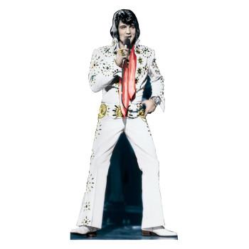Elvis Presley White Jumpsuit Cardboard Cutout - $39.95