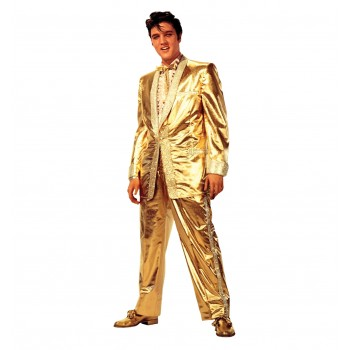 Elvis Presley Gold Lame` Suit Cardboard Cutout - $39.95