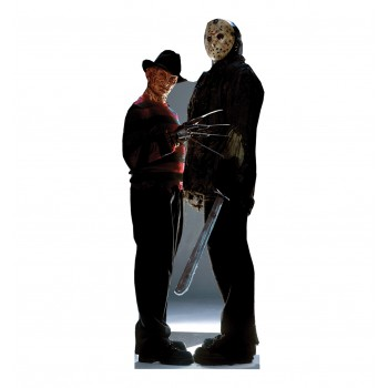 Freddy vs Jason Cardboard Cutout