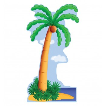 Palm Tree Cardboard Cutout - $39.95
