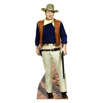 John Wayne Rifle at Side Cardboard Cutout - $39.95