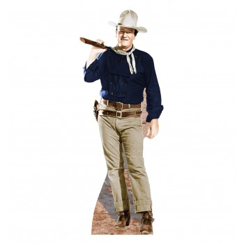 John Wayne Rifle on Shoulder Cardboard Cutout - $39.95