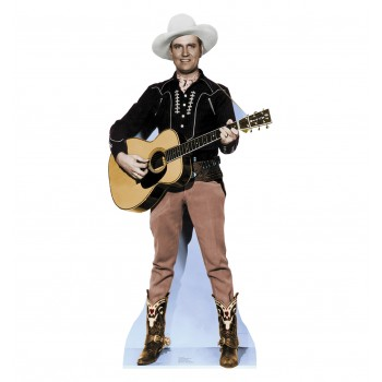 Gene Autry Cardboard Cutout