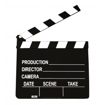 Film Clapper Cardboard Cutout - $24.95