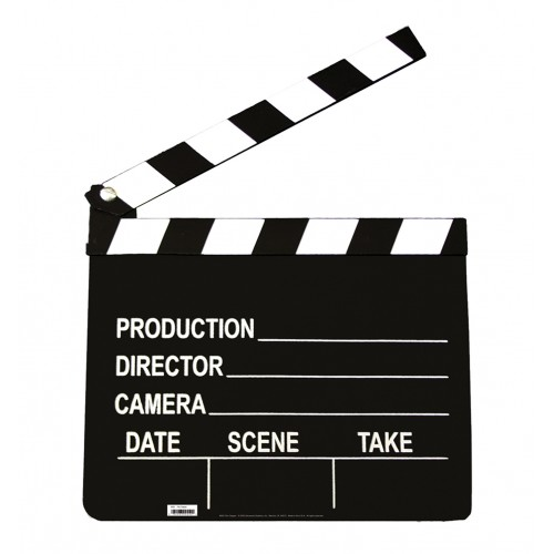 Film Clapper Cardboard Cutout