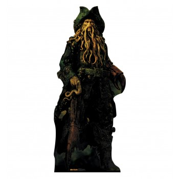 Davy Jones Pirates of the Caribbean Cardboard Cutout