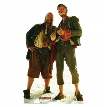Pirate Duo Pirates of the Caribbean Cardboard Cutout