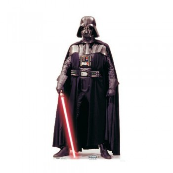 Darth Vader (Star Wars) - TALKING Cardboard Cutout - $49.95