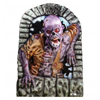 Back from the Dead Zombie in Crypt Cardboard Cutout - $24.95