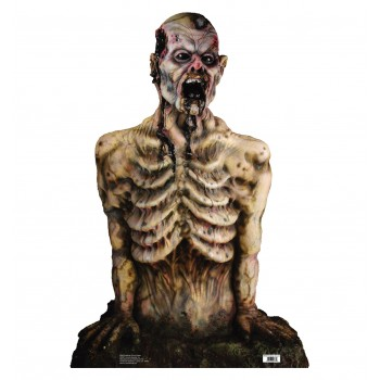 Breaking Ground Again Zombie Torso Cardboard Cutout