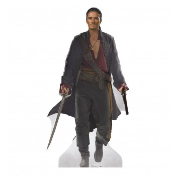 Will Turner (POTC: At Worlds End) Cardboard Cutout