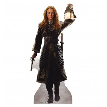 Elizabeth Swann POTC: At Worlds End Cardboard Cutout