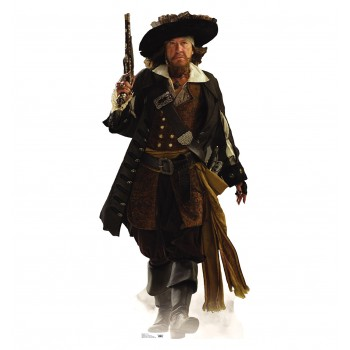 Capt Barbossa POTC: At Worlds End Cardboard Cutout