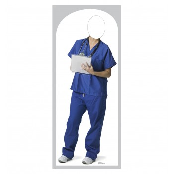 Orderly Stand In Cardboard Cutout - $39.95