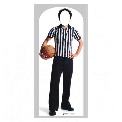 Referee Stand In Cardboard Cutout