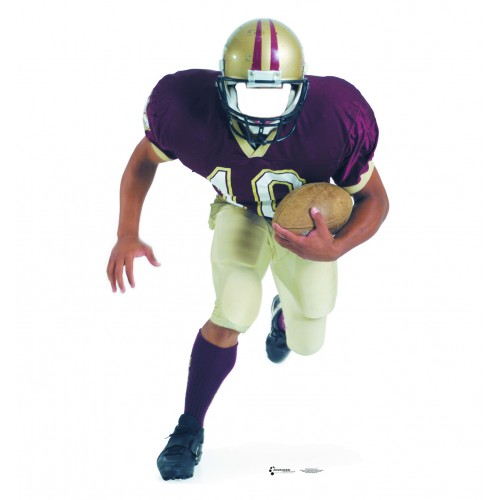 Football Player Stand In Cardboard Cutout