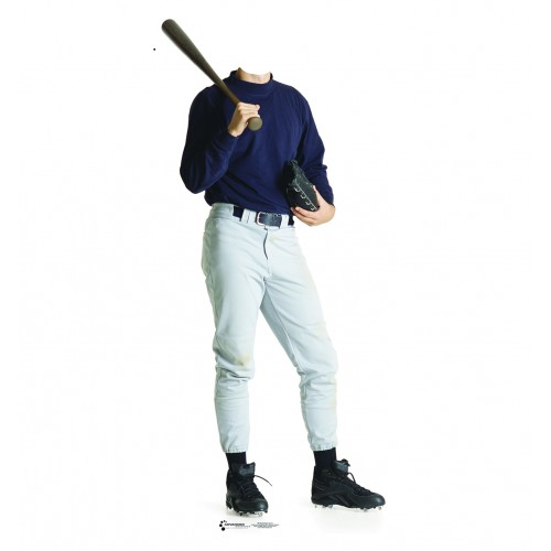 Baseball Player Stand In Cardboard Cutout