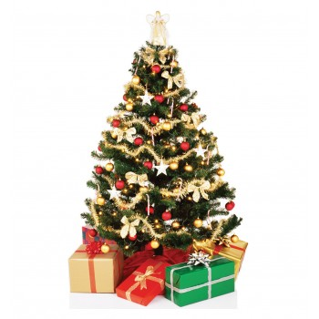 Christmas Tree Cardboard Cutout - $39.95