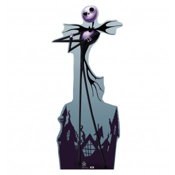 Jack Skellington Nightmare Before Chirstmas Cardboard Cutout