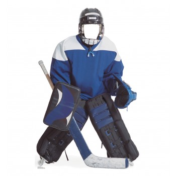 Hockey Boy Stand In Cardboard Cutout - $39.95