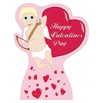 Cupid with Hearts Cardboard Cutout