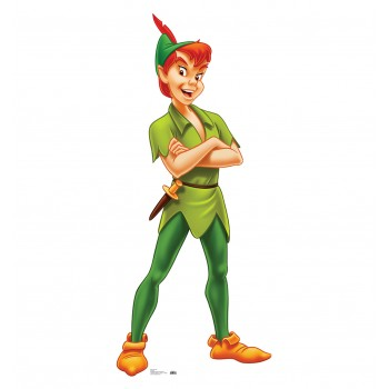 Peter Pan Cardboard Cutout