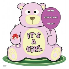 It s A Girl Teddy Bear