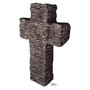 Granite Stone Tombstone Cardboard Cutout