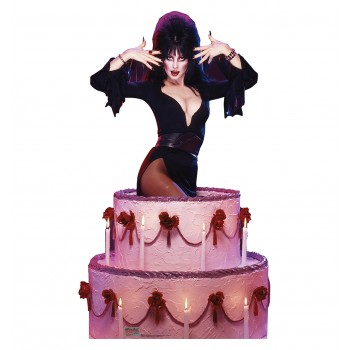 Elvira - Cake - TALKING Cardboard Cutout - $49.95