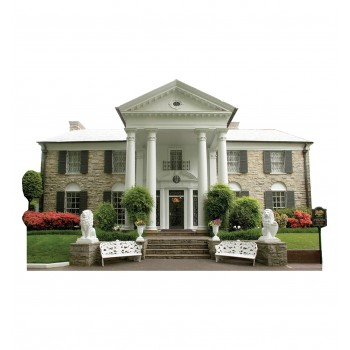 Graceland Mansion Cardboard Cutout - $39.95