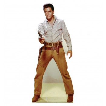 Elvis Gunfighter Cardboard Cutout - $39.95
