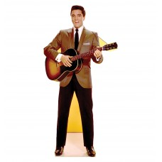 Elvis Guitar - TALKING Cardboard Cutout