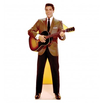 Elvis Guitar - TALKING Cardboard Cutout - $49.95